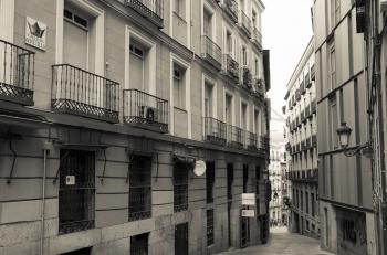 Calle del Bonetillo, en Madrid. Foto de Yanko Pla.