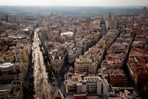 Madrid desde las alturas, foto de Emilio Naranjo