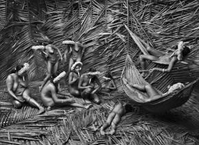 """Obra perteneciente a la exposición """"Génesis"""" de Sebastiao Salgado, en Madrid"""