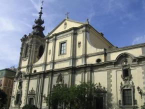 Iglesia de Montserrat, en la Calle San Bernardo, Madrid
