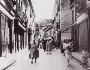 Calle Cava Alta, en 1930. Madrid