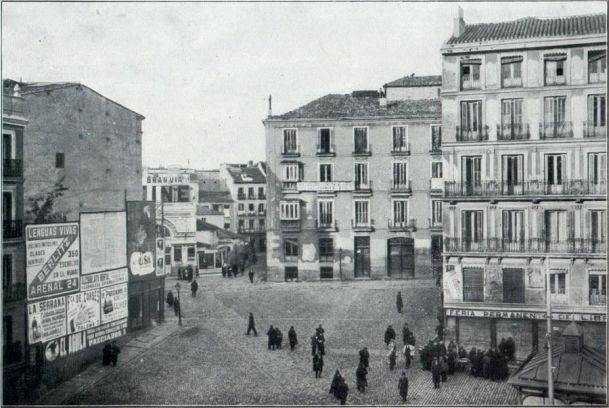 La Plaza de Callao, en 1915. Madrid