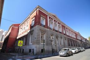 Universidad Central, en la Calle San Bernardo. Madrid