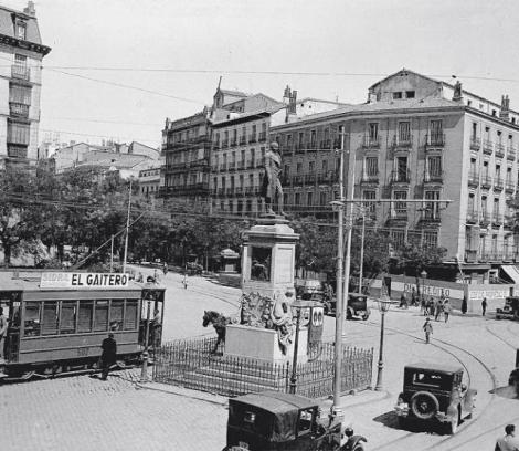 Glorieta de Bilbao en 1920, Madrid