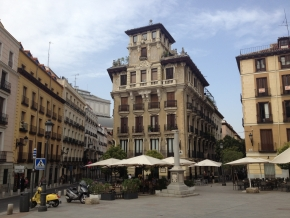 Plaza de Ramales, en Madrid