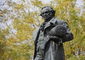 Monumento a Goya, en Madrid