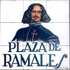 Azulejo de la Plaza de Ramales,en Madrid