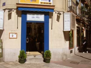 Fachada de Taberna Andaluza La Fría, en Madrid