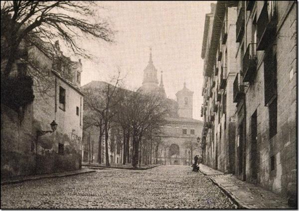 ostanilla de San Andrés, en 1920, Madrid