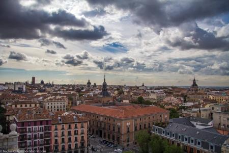 Cielo de Madrid, foto de Callejeando Madrid