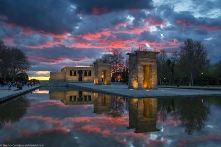 Templo de Debod, foto de Callejeando Madrid