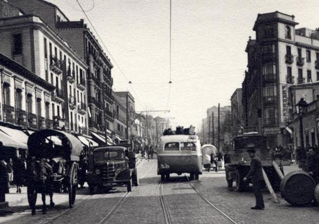 Bravo Murillo en 1950