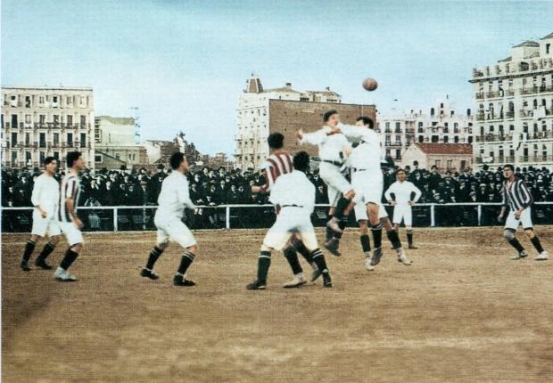 Real Madrid y Atlético disputan un derbi en 1913 en el desaparecido estadio de O´Donnell