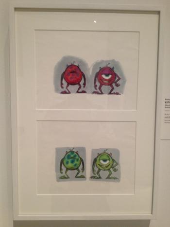 Exposición Pixar en Madrid