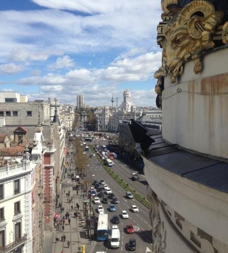 Vistas desde la azotea del Edificio Metrópolis