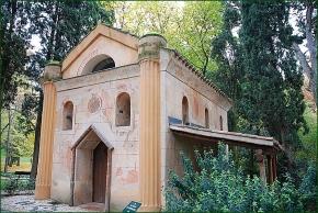 Ermita en el Parque del Capricho, en Madrid