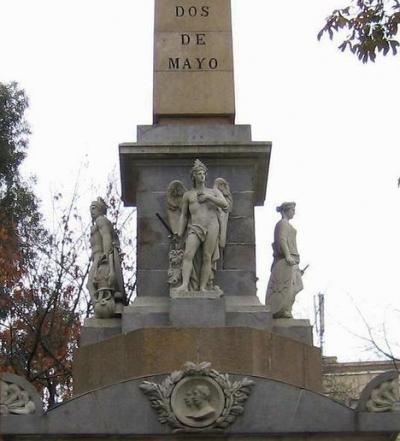 Monumento del 2 de Mayo, Madrid