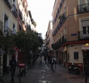 Calle del Espíritu Santo en Madrid
