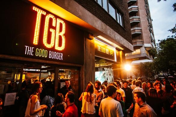 Maridaje de cerveza y hamburguesas en TGB