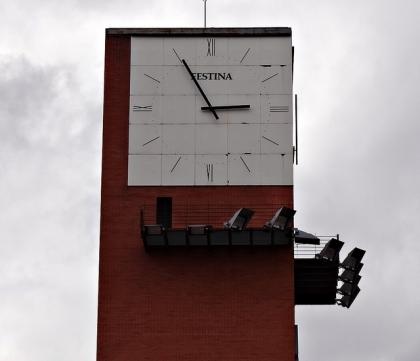 Reloj de la Estación de Atocha, en Madrid