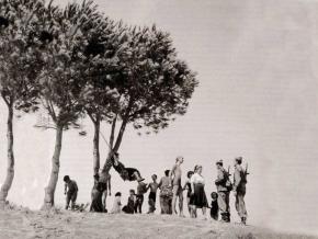 Verano en ka Casa de Campo, en 1955, Madrid