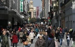 Calle Preciados, en Madrid