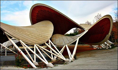 Auditorio en el Parque El Paraíso en Madrid