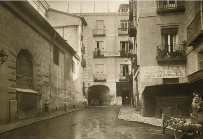 Calle San Ginés 1931, Madrid