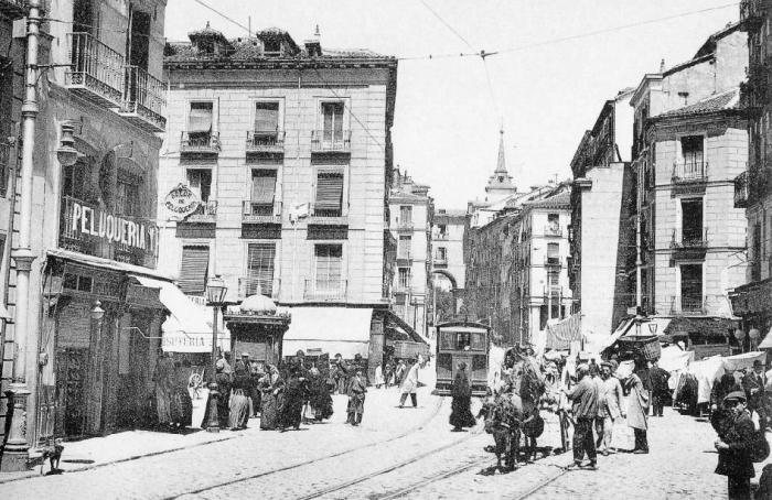 Calle de Toledo 1905, Madrid