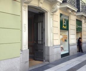Casa de García Lorca, en Calle Alcalá 96, Madrid