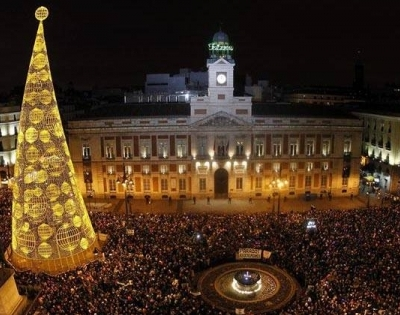 Nochevieja en Sol, Madrid