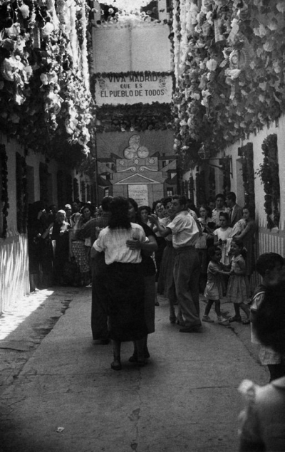 Verbena de La Paloma, 1959. en Madrid