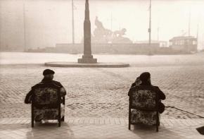 Mirando a la Cibeles, 1944, Madrid