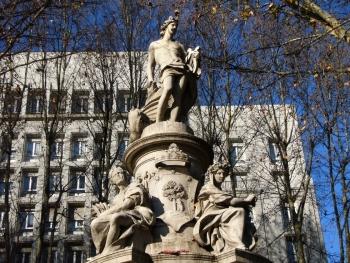 Fuente de Apolo, en Madrid