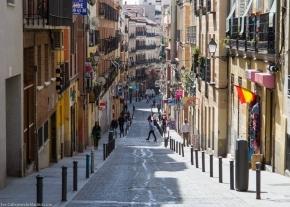Calle del Amparo, en Madrid, Foto de Callejeando Madrid