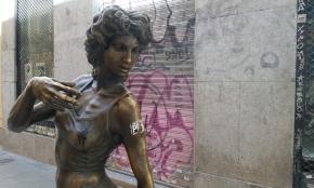 La 'paseante' que jamás caminó por Madrid