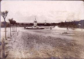 Parque del Oeste en 1913, Madrid