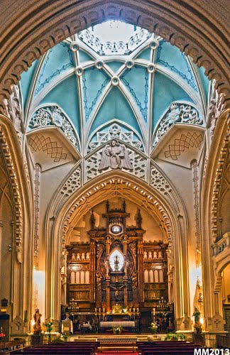 Iglesia Buena Dicha Interior