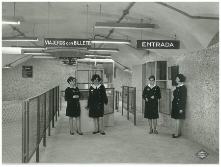 Trabajadoras Metro de Madrid