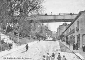 Viaducto original de la Calle Segovia