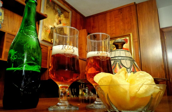 Cerveza Reserva Alhambra 75 cl.