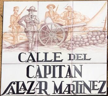 Calle del Capitán Salazar Martinez, en Madrid