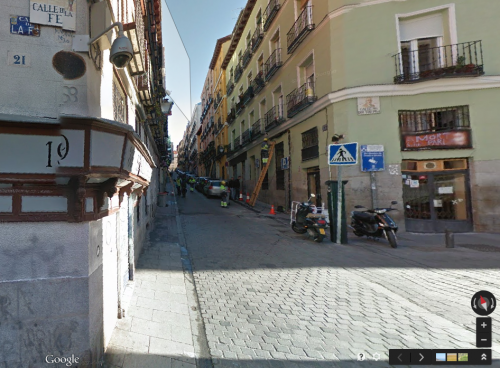 Calle Salitre Google Street View