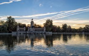 Estanque del Retiro, de Madrid, por Jamesmdo