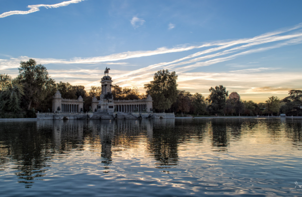 Estanque del Retiro, Madrid