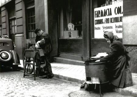 Castañera en Madrid