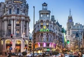 Gran Vía, Madrid, por Carlos Ramirez de Arellano