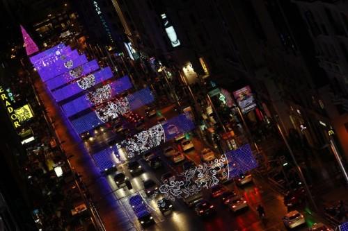 Navidad en Gran Vía, Madrid