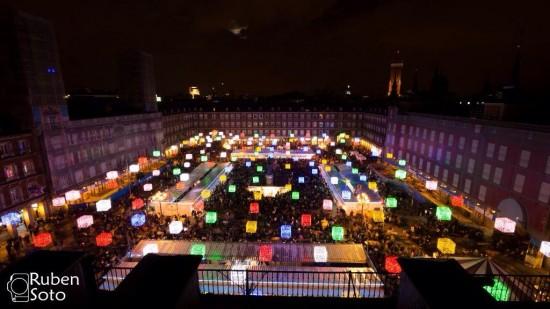 Navidad en la Plaza Mayor, Madrid