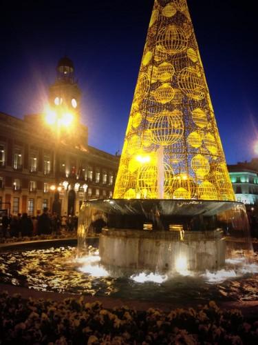 Navidad en la Puerta del Sol, Madrid
